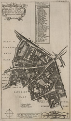 Aldgate ward with its division into parishes. Taken from the last survey, with corrections & additions (1720)